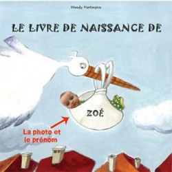 Livre personnalisé enfant : Le livre de naissance
