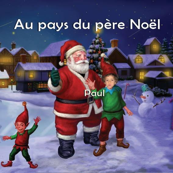 Personnalisé Magique Noël Aventure histoire livre cadeau de Noël