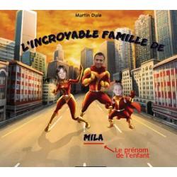 Livre personnalisé enfant : L'incroyable famille
