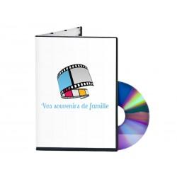 Transfert photos/diapos/négatifs sur DVD (numérisation en supplément)